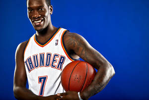 photo - ROYAL IVEY poses for a photo during the Oklahoma City Thunder media day on Monday, Sept. 27, 2010, in Oklahoma City, Okla.   Photo by Chris Landsberger, The Oklahoman