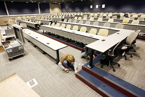 Photo - A 165-seat auditorium in UCO's Forensic Science Institute will be used by students and professionals.