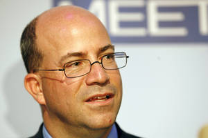 photo - FILE - In this Wednesday, Nov. 14, 2007, file photo, Jeff Zucker, President and Chief Executive Officer of NBC Universal, is seen at the 60th anniversary celebration of NBC's Meet the Press at the Newseum in Washington. CNN on Thursday, Nov. 29, 2012, named former NBC Universal chief Jeff Zucker as its new top executive, searching for a way to turn around the original cable news network as it has lagged behind rivals Fox News Channel and MSNBC.Zucker will start in January, based in New York and reporting to Phil Kent, who runs all of the Turner networks for parent company Time Warner. (AP Photo/Charles Dharapak, File)
