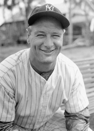 Photo -  Lou Gehrig played in 2,130 consecutive games for the New York Yankees. AP photo  <strong> -  AP </strong>