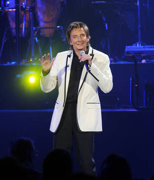 Photo - Barry Manilow performs live in  Las Vegas on March 6, 2010. Photo by Denise Truscello <strong>Denise Truscello</strong>