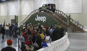 photo - Camp Jeep is an indoor driving obstacle course which will be at this year's Oklahoma City International Auto Show. PHOTOs PROVIDED