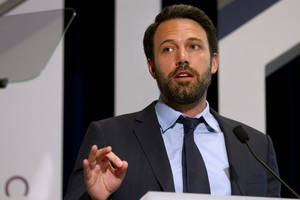 Photo -   Actor Ben Affleck speaks at the USAID Child Survival Forum, Thursday, June 14, 2012, at Georgetown University in Washington. (AP Photo/Jacquelyn Martin)