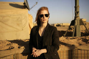 "Photo - FILE - This undated publicity film image provided by Columbia Pictures Industries, Inc. shows Jessica Chastain in""Zero Dark Thirty.""  (AP Photo/Columbia Pictures Industries, Inc., Jonathan Olley, File)"