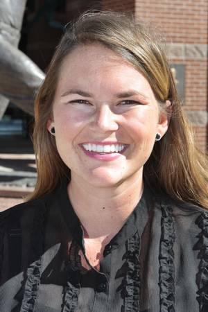 Photo - Mallory O'Neill is the new district manager with the Bricktown Association. <strong>David McDaniel - The Oklahoman</strong>