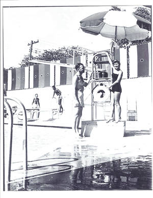 Photo - The Paseo Plunge once was a popular communtiy pool until the polio epidemic in the '50s forced it to close. The building is now being renovated into a multiuse building by owner, Joy Belt. Photo provided. <strong></strong>