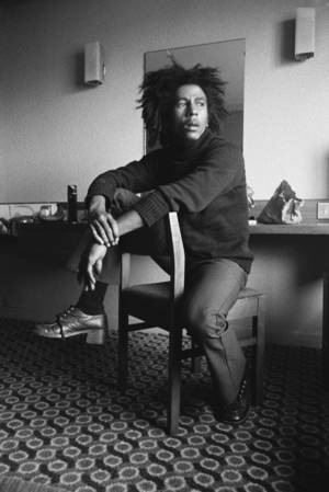 "Photo - Bob Marley in a scene from ""Marley."" <strong></strong>"