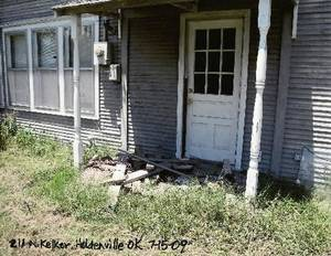 Photo - Boone Pickens' grandmother's house at 211 N. Keller in Holdenville. Photo provided by Brent Gooden.