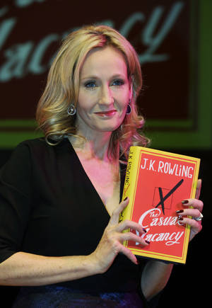 Photo - Author J.K. Rowling. (AP) <strong></strong>
