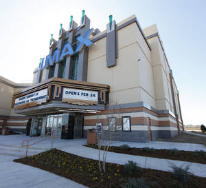 Photo - The IMAX at Warren Theatres in Moore is shown. Photo by Steve Gooch, The Oklahoman