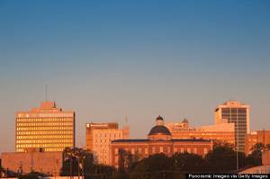 Photo - Buildings in a city, Jackson, Hinds County, Mississippi, USA