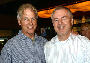 Photo - Mark Harmon, Dr. Michael Wright. Photo by David Faytinger, for The Oklahoman