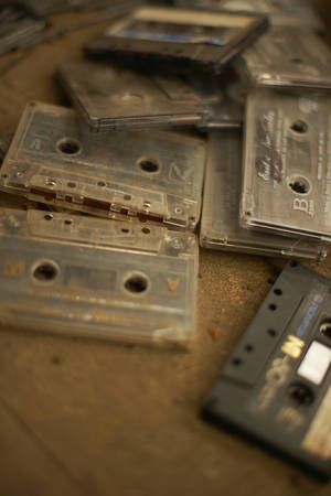 Photo - With some accessories and a home computer, audio tapes can be converted to CDs. Photo illustration