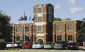 Photo - File photo of the administration building at Southern Nazarene University
