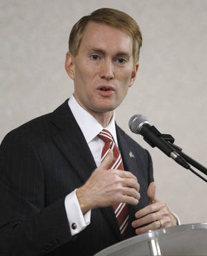 Photo - Rep. James Lankford <strong>Sue Ogrocki</strong>
