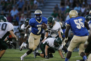 Photo - Oklahoma signee Gary Simon in action during a 2011 high school game. PHOTO COURTESY ST. PETERSBURG TIMES <strong>Zuppa, Chris</strong>