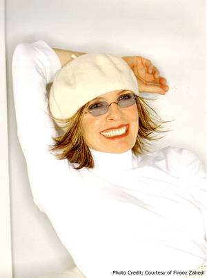 Photo - Diane Keaton Photo provided By Firooz Zahedi