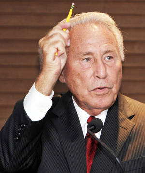 Photo - Lee Corso and ESPN GameDay will be at Bedlam. PHOTO BY NATE BILLINGS,  THE OKLAHOMAN