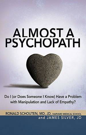 "Photo - ""Almost a Psychopath"" book cover. Photo provided. <strong></strong>"