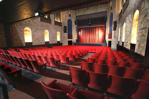 Sooner Theatre's main floor seats 350. Photo by Steve Sisney, The Oklahoman