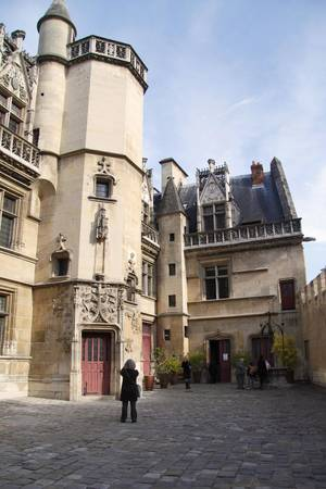 Photo - Visiting the little Cluny Museum in Paris to see the Lady and the Unicorn tapestries is a breeze. (Photo by Laura VanDeventer)
