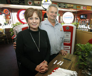 photo - Debbie and Marc Prather are owners of The Stables Restaurant in Guthrie, OK, Monday, January 14, 2013,  By Paul Hellstern, The Oklahoman