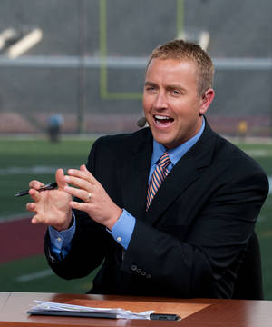 photo - ESPN's Kirk Herbstreit picked OU to win the revamped Big 12. PHOTO BY JOE FARONI, Courtesty ESPN <strong>Joe Faraoni</strong>