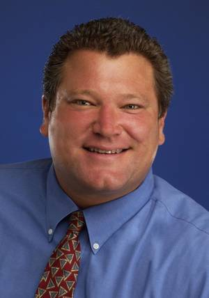 Photo - Mark Hutchison The former city editor for The Oklahoman died Wednesday at age 49.