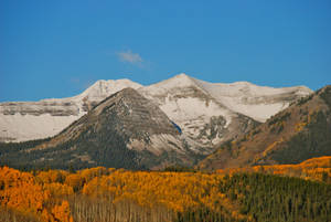 Snow-capped mountains are among the many ranges near Crested Butte, Colo. PHOTO PROVIDED <strong></strong>