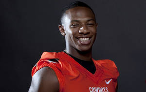 photo - Oklahoma State&#039;s Justin Gilbert. Photo by Sarah Phipps, The Oklahoman 