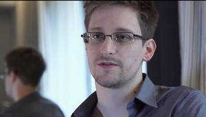 "Photo - FILE - This June 9, 2013 file photo provided by The Guardian Newspaper in London shows National Security Agency leaker Edward Snowden, in Hong Kong. Snowden wrote in ""an open letter to the Brazilian people"" published early Tuesday, Dec. 17, 2013 by the respected Folha de S. Paulo newspaper that he would be willing to help Brazil's government investigate U.S. spying on its soil, but that he could do so only if granted political asylum. (AP Photo/The Guardian, Glenn Greenwald and Laura Poitras, File)"