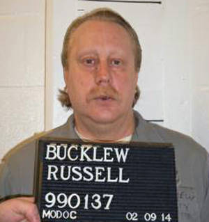Photo - FILE - In this Feb. 9, 2014 file photo provided by the Missouri Department of Corrections is Russell Bucklew who is scheduled to die for killing a romantic rival as part of a crime spree in southeast Missouri in 1996. Bucklew, who suffers from a congenital condition that causes weakened and malformed blood vessels, told the Associated Press Friday, May 16, 2014 that he is scared that the lethal drug could cause him to suffer or be left alive but brain-dead. His would be the first execution since Oklahoma inmate Clayton Lockett died of a heart attack 43 minutes after a vein collapsed following injection. (AP Photo/Missouri Department of Corrections, File)