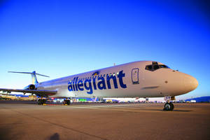Photo - Allegiant airline announced a new nonstop flight between Oklahoma City and Orlando beginning Nov. 14. <strong> - PROVIDED BY ALLEGIANT</strong>