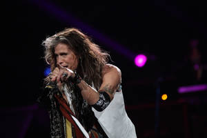 Photo - Steven Tyler and Aerosmith performed at Chesapeake Energy Arena Thursday night. <strong>Vernon Gowdy III  - Special to The Oklahoman</strong>