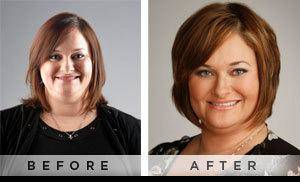 Photo - Christi Jeffreys, before and after her Mood makeover.