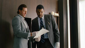 "Photo - Edward Burns, left, and Tyler Perry in a scene from ""Alex Cross."" SUMMIT ENTERTAINMENT PHOTO"
