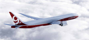 Photo - The 777-9X is shown in this artist's concept provided by the Boeing Co. It is the largest of the aerospace  company's new family of 777X jetliners. AP Photo. <strong>Boeing Graphic</strong>