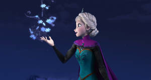 "Photo - This image released by Disney shows Elsa the Snow Queen, voiced by Idina Menzel, in a scene from the animated feature ""Frozen."" Disney's animated adventure, ""Frozen,"" took the No. 2 position, earning $28.9 million over the weekend and $248.4 million domestically after six weeks at the multiplex. ""'Frozen' probably had the best release date of the year because they positioned themselves to completely dominate the family film marketplace over the holidays,"" said box-office analyst Paul Dergarabedian of Rentrak. ""To be No. 2 in its sixth week is a total reflection of that."" (AP Photo/Disney,File)"