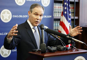 photo - Scott Pruitt Oklahoma Attorney  General
