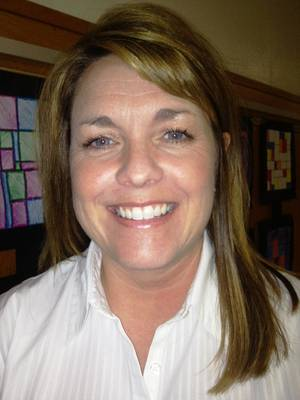 Photo - Michelle Pontikos Pontikos was named principal of Roosevelt Middle School.