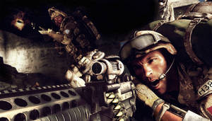 """Photo - A scene from the video game """"Medal of Honor: Warfighter"""" is shown. AP Photo"""
