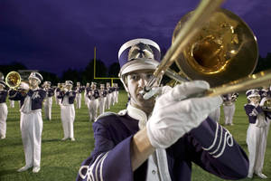 Photo - Marching bands will perform to raise money for victims of the recent fires in Luther. Photo provided