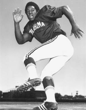 Photo - Former Oklahoma standout Rod Shoate was elected to the College Football Hall of Fame on Tuesday. Photo provided by OU Athletics Communications.