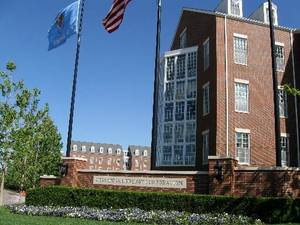 photo - Chesapeake Energy campus at NW 63rd and Western Wednesday April 18, 2012. Photo by Steve Lackmeyer
