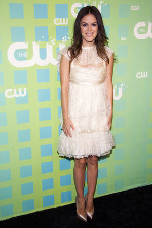 Photo -   Rachel Bilson attends The CW Television Network's Upfront 2012 in New York, Thursday, May 17, 2012. (AP Photo/Charles Sykes)