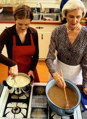 Photo - Columnist suggests cooking lessons for Christmas. <strong>Ryan McVay</strong>