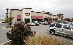 "photo - Retail development in Moore in 2012 included this strip mall at Moore Town Center. For 2013, Price Edwards & Co. says: ""A number of new projects are in some stage of development; expect announcements of new construction."" PHOTO BY STEVE SISNEY, The Oklahoman"