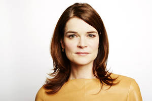 "Photo - This Sept. 25, 2013 photo shows actress Betsy Brandt in New York. Brandt stars in the AMC series ""Breaking Bad,"" which ends its series run on Sunday. She also stars in the new comedy ""The Michael J. Fox Show,"" premiering Thursday, Sept. 26, on ABC. (AP Photo/Invision, Dan Hallman)"