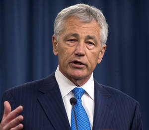 Photo - Defense Secretary Chuck Hagel <strong> - AP</strong>