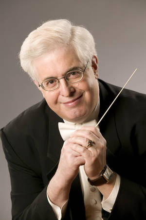 Photo -  Joel Levine  Oklahoma City Philharmonic music director  <strong>Michael Ives -    </strong>